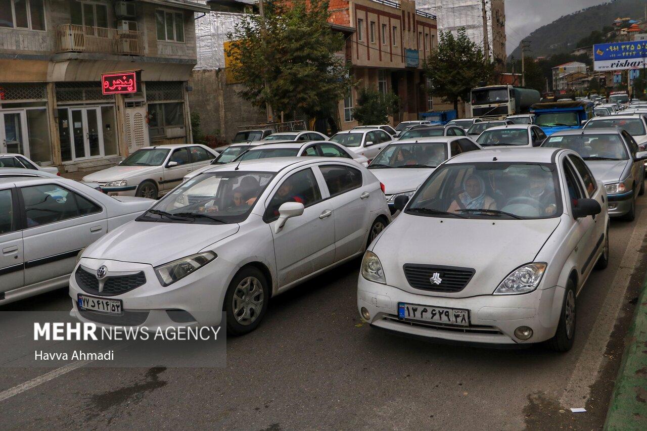 آخرین وضعیت معابر پایتخت/ ترافیک سنگین در اکثر معابر