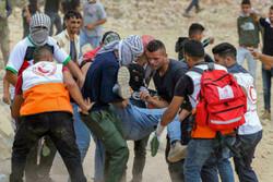 زخمی شدن بیش از ۷۰ فلسطینی کرانه باختری در درگیری با صهیونیست ها