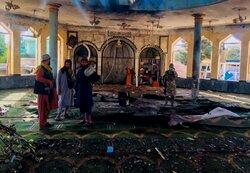 تفجير المسجد الشيعي في قندوز بأفغانستان/ بالصور