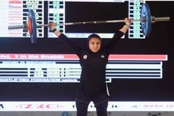 Iranian girl makes history at W Junior Weightlifting C'ships