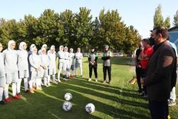 برپایی اردوی تیم ملی فوتبال بانوان در بلژیک و بازی با تیم شارلوا
