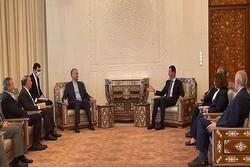 Iran, Syria continue economic development despite sanctions