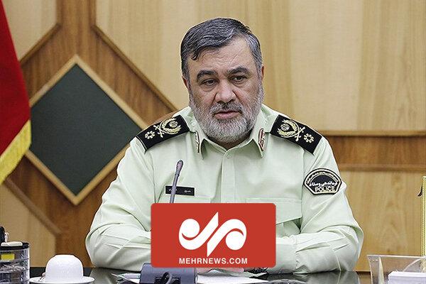 ایرانی سرحدوں کی سکیورٹی ميں کوئي مشکل نہیں