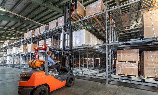 افزایش بهره وری صنایع با استفاده از سیستمهای قفسه بندی مناسب