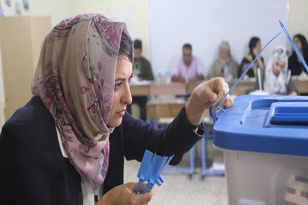 Irak'taki seçimlerden görüntüler