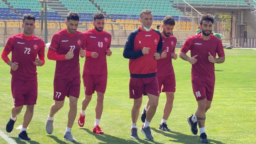 پرسپولیس به جای ریاض در تهران تمرین می کند