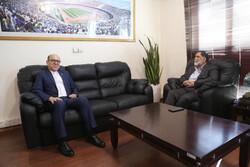 دومین مدیرعامل پیشین استقلال به دیدار آجورلو رفت