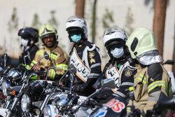 Tahran'da örnek sürücüler onore edildii