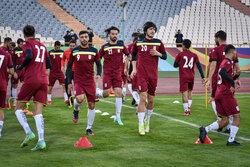 İran Milli Takımı, Güney Kore maçı öncesi antreman yaptı