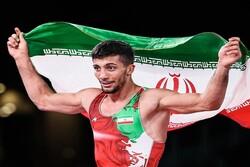 ذهبية إيرانية رابعة في بطولة العالم للمصارعة الرومانية