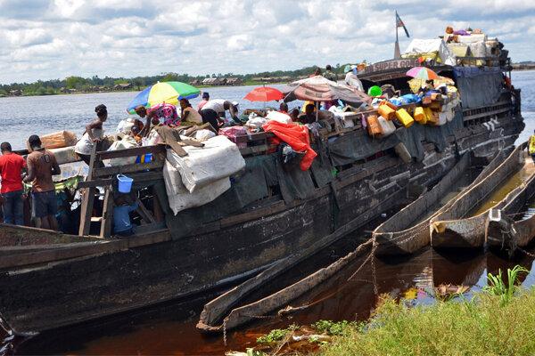 کانگو میں مسافر بردار کشتی کے حادٹے میں 51 افراد ہلاک