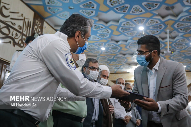 İran'da örnek sürücüler için takdir konferansı düzenlendi