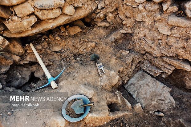 کشف و کاوش آسیاب آبی  در همدان