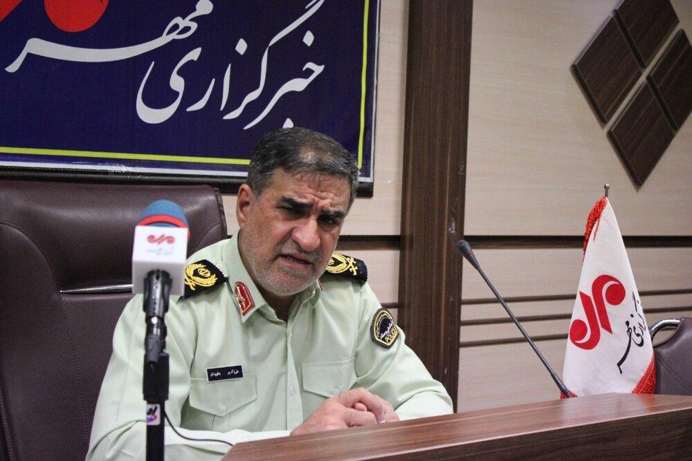 1489 قبضه سلاح غیرمجاز طی هفت ماه گذشته در کرمانشاه کشف شده است