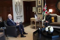 نخست وزیر لبنان با شاه اردن دیدار کرد