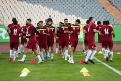 تدريبات منتخب إيران لكرة القدم استعدادا لمواجهة الكوري الجنوبي/ بالصور