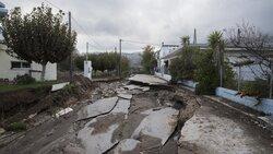 فيضانات تجتاح جزيرة أويا اليونانية/ بالصور