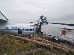 روس میں مسافر طیارہ گرکر تباہ/ 16 افراد ہلاک