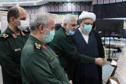 نمایشگاه «منظومه فکری مقام معظم رهبری در حوزه دفاعی» افتتاح شد