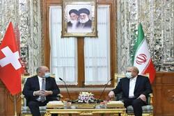 İran Meclis Başkanı, İsviçreli mevkidaşı ile görüştü