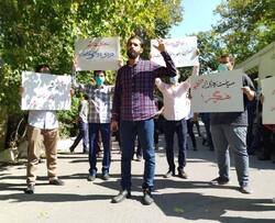 اعتراض به حذف دانشجویان از مراسم آغاز سال تحصیلی/ اجازه نمی دهیم دانشگاه انقلابی و سیاسی نباشد