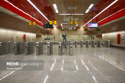بهرهبرداری همزمان از ۲ ورودی جدید ایستگاه های مترو در آبان ماه