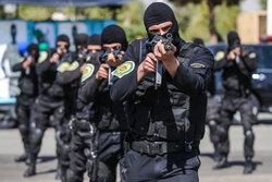 تہران پولیس کی مشترکہ پریڈ