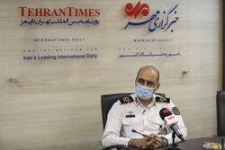 Tehran traffic police chief's visit to MNA