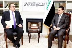 محورهای رایزنی مشاور امنیت ملی عراق با مقام اروپایی