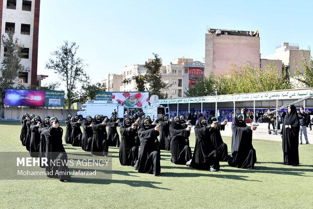 مراسم صبحگاه مشترک نیروی انتظامی تهران بزرگ