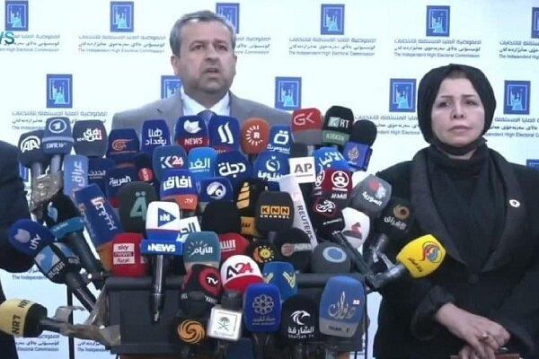 عراق میں پارلیمانی انتخابات کے ابتدائی نتائج کا اعلان
