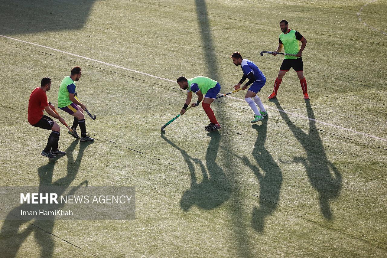 اردوی تیم ملی هاکی روی چمن در همدان