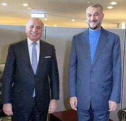 تبریک امیر عبداللهیان به وزیر خارجه عراق