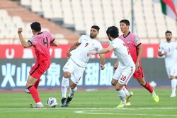 بازی تیم های ملی فوتبال ایران و کره جنوبی