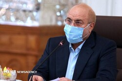 Ghalibaf congrats reelection of Russia's State Duma Chairman