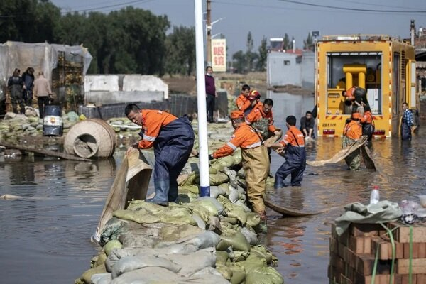 Dozen killed, nearly 2mn affected in heavy flood in China