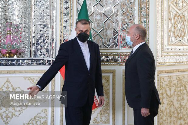 Swiss Natl. Council pres. visits Iran FM Amir-Abdollahian