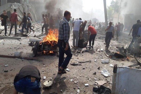 مقتل 3 أشخاص جراء انفجار مستودع ذخيرة للمرتزقة الأتراك بريف حلب