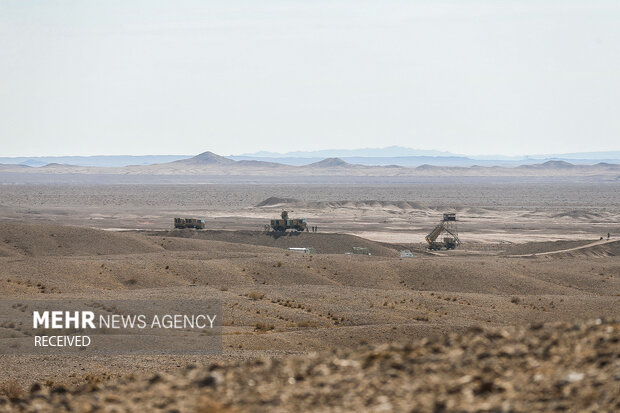 Army, IRGC air defense units launch large-scale aerial drills