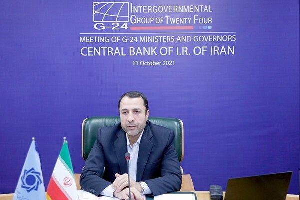 صالح آبادی به عنوان رئیس شورای پول و اعتبار سوگند خورد