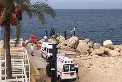 Training plane crashes off Lebanon coast, two people missing