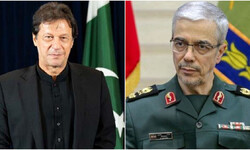 Gen. Bagheri, Pakistan PM call for enhanced security coop.