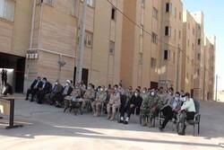 ۶۸ واحد مسکونی مرزبانی قصرشیرین به ارزش ۲۲ میلیارد ریال افتتاح شد