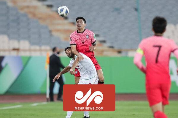 خلاصه ای از دیدار تیم ملی فوتبال ایران و کره جنوبی