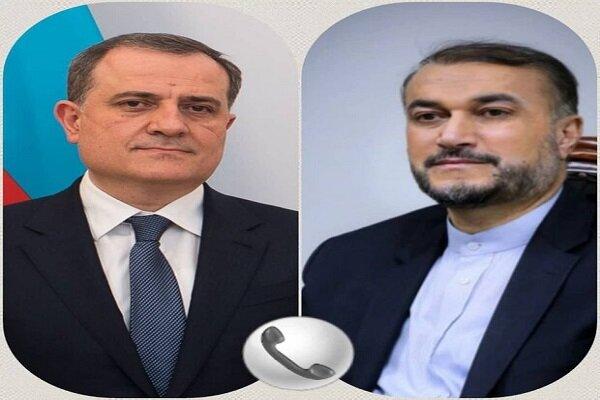 İran ve Azerbaycan dışişleri bakanları telefonda görüştü