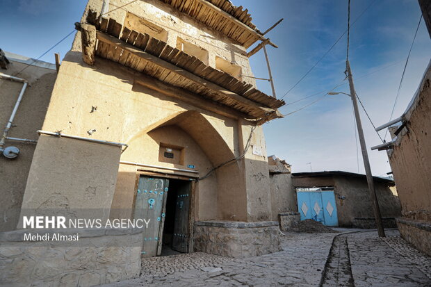 روستای تاریخی درسجین در استان زنجان