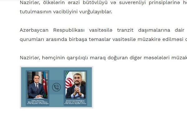 """Azerbaycan medyasında İran karşıtı """"provokatif"""" manşet"""