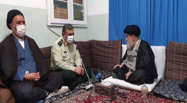 حفظ اقتدار نیروی انتظامی و بر خورد قاطع با مجرمان