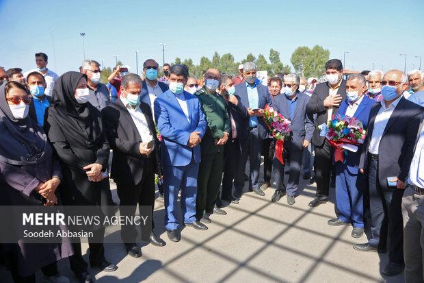 استقبال آملیها از محمدهادی ساروی دارنده نشان طلای وزن ۹۷ کیلوگرم کشتی فرنگی جهانی