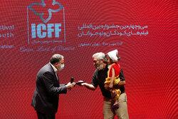 """""""Uluslararası Çocuk Filmleri Festivali""""nin kapanış töreninden fotoğraflar"""